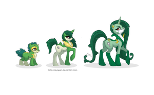 Regal Family Ponikemon by MySweetQueen