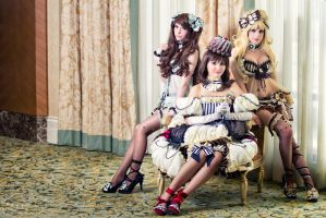 Mint Chocolate and Chocolate Lolita by DigitalHikari