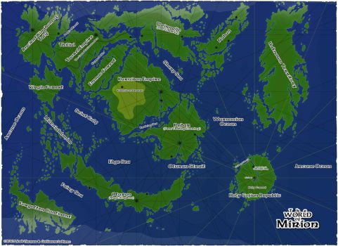 The World of Mirion by mapclub