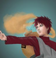 Gaara of the Sand by Daria91