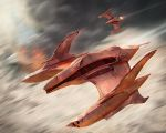 Alien Attack Plane by khesm