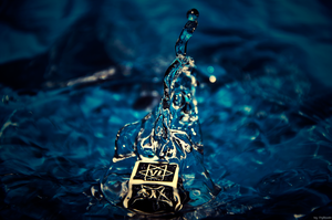 Magic water dice. by Frytkasis