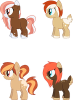 [CLOSED] - Persimmon Kiss X [nameless] Fanfoals by Featheries