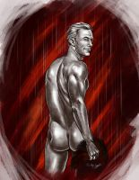 NSFW: Cullen from Behind by Wyldehart