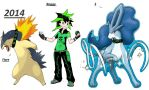 Me and my buddys ( pokemo trainer ) by Casirethedragon11