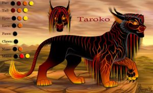 Taroko reference by OmegaLioness