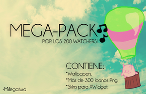 +Pack 200 Watchers! by Milegatura