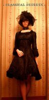 Classical Puppets Chiffon Gothic Lolita Dress by miccostumes