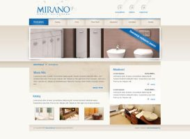 Mirano bathroom furniture by jdFlex