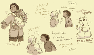 APH: Cuba n' Canada by BearWithGlasses