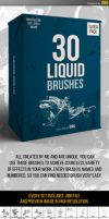 30 Liquid Brushes by iorkdesign