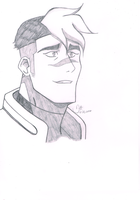Voltron: Legendary Defender Shiro by Tradigital4RT