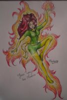 Jean Grey for Kate by TigaLioness