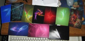 My postcards arrived 8D by CaptainCheezmo