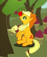 528-MLP-Sweet Apple Worker by Silverlegends
