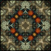 K10 Art Nouveau Tile by Xantipa2