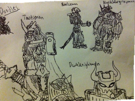 Doodles and Drawings by Omnimon1996