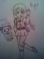 New Improved: Cookie and Hunni the bear by BebeKimichi