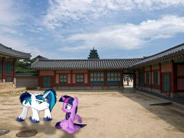 Shining and Twily at Korea by laopokia