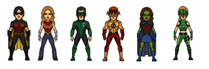 Young Justice by Rated-R4-Ryan
