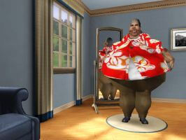 Obese Young Max Tennyson - Sims 3 by Beast72