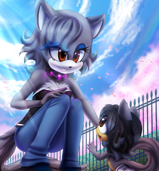 [YCH] Blanca and Blitzy +speedpaint by fangirl-sonicteam