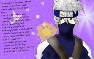 Kakashi having lost not one but two by zenzen1997