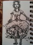 Doll Sketch by Orchid-Black