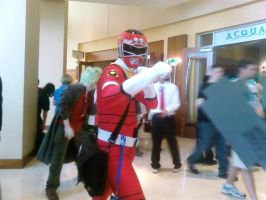 i call, red ranger over... by sararification