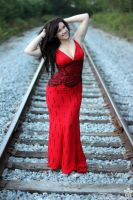 Pin-Up on the Tracks by DRPhotographyKY