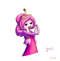 Princess bubblegum #2 by waritsala
