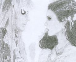 Jareth And Sarah by MidnaofTwilight3519