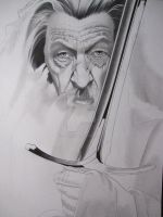 Gandalf The Gray WIP I by corysmithart