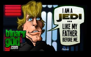 Like Father, Like Son (Return of the Jedi) by b1naryg0d