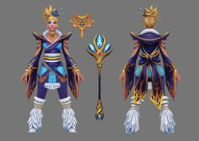 Frozen Lotus Set [Dota Workshop] by Vovosunt