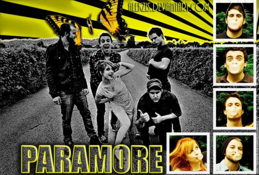 Paramore Wallpaper 2010 by alekzis