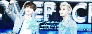 [Old] KrisTao - Quote/Coverfacebook by ByunAn