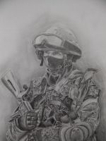 Russian Infantry Soldier. by Makarov771