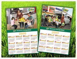 Giant calender 2009 by swarafun