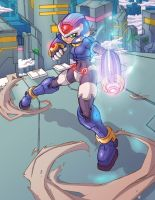 MMZX - Megaman Tribute Entry by endshark