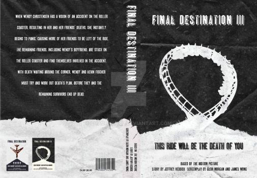 Final Destination 3 Book Cover by chadpowell