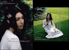 Me--Arwen Cosplay by HellBelle