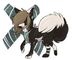 BreatheInPain Chibi by SushiGryphon