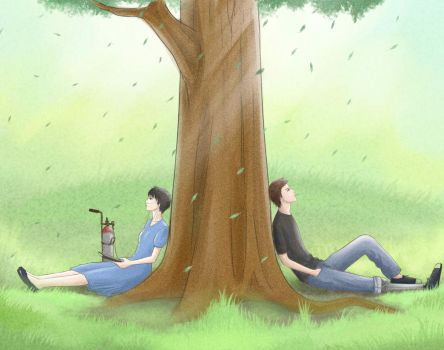 The Fault in our stars by bLueLady09