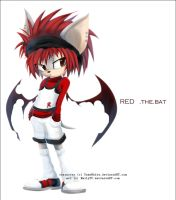 RED the.bat. by EmilyTC