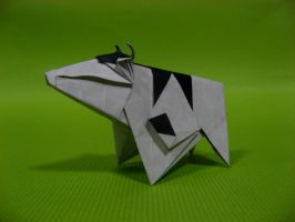 Origami Cow by GEN-H
