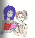 Asha and Luciano (2p Italy) with Baby Binti by guardianarchangel
