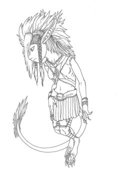 Chieftain's Daughter (Inked) by LordDessik