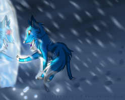 AT-mistthewolf: My destiny by LittleWishWolf