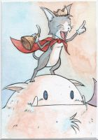 Cait Sith by WandererFromYs